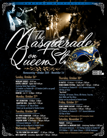 Homecoming 2014 - The Masquerade on Queen Street